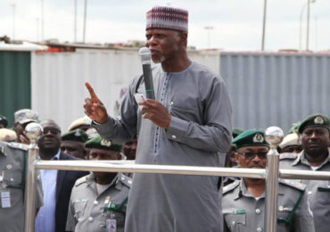 Customs Make U-Turn, Suspends Earlier Directive On Ban of Barge Operations