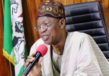 #EndSARS: FG Won't Allow Anarchy In Nigeria – Lai Mohammed Issues Warning