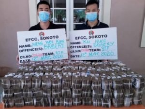 Two Chinese Arrested For Offering N100m Bribe To Top EFCC Officer