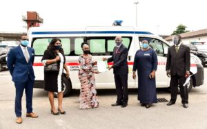 CMSCC Donates Ambulance to Lagos State Government to Support Fight Against COVID-19