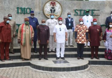 Uzodimma Flags Off  Imo State Health Insurance Scheme