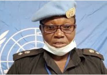 UN Honours Nigerian Police Officer For Exemplary Conduct
