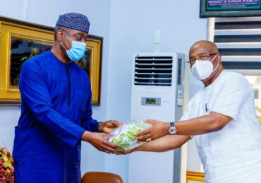 NSE Council President Visits Golden Guinea Breweries, Abia ,Imo Govs.
