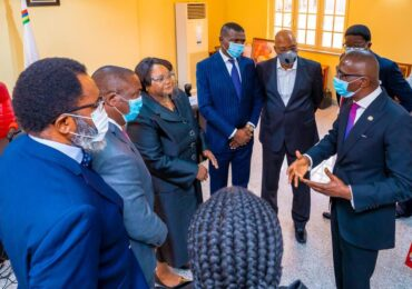 #EndSARS: Sanwo-Olu Inaugurates Judicial Panel On Brutality, Human Rights Violations
