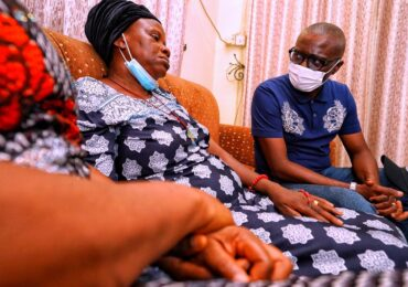 #EndSARS: Sanwo-Olu Visits Widow, Family Of Driver Killed In Surulere