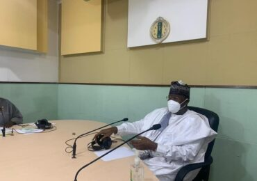 Radio Nigeria Kaduna Hosts Danbatta, Enlightens Listeners On Telecoms Industry Issues