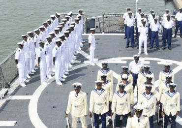 Nigerian Navy Promotes 203 Senior Personnel