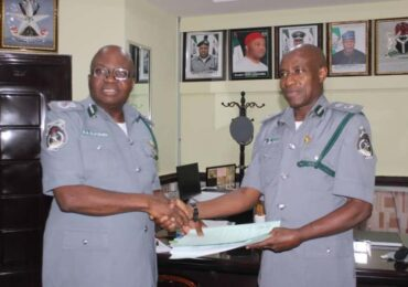 New Controller Takes Over Customs FOU Zone C Owerri